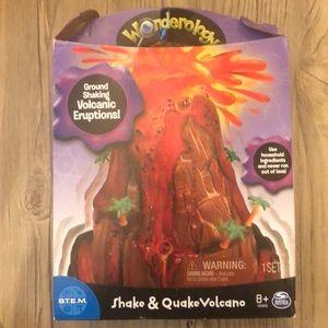 Shake & quake volcano. (Science activity)